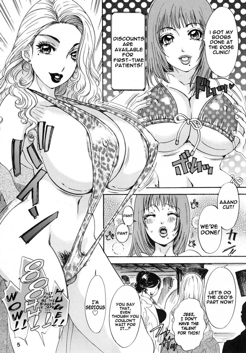 Shemale behavior manga