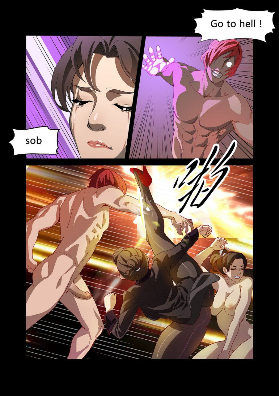 Street Fighter Hentai Comic Chunlieater - The Legend of ...