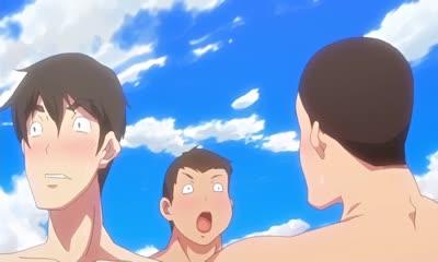 Nudist Beach ni Syuugaku Ryokoude!