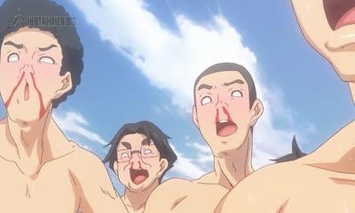 Yarimoku Beach ni Shuugakuryokou de!