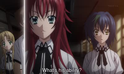 Season 2 - High School DxD - Episode 9 - English